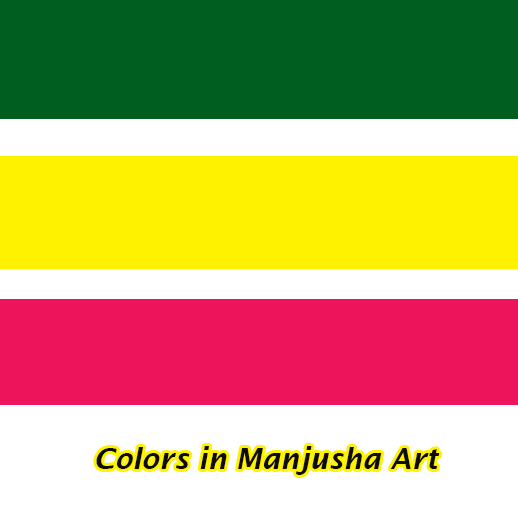 Colors in Manjusha Art